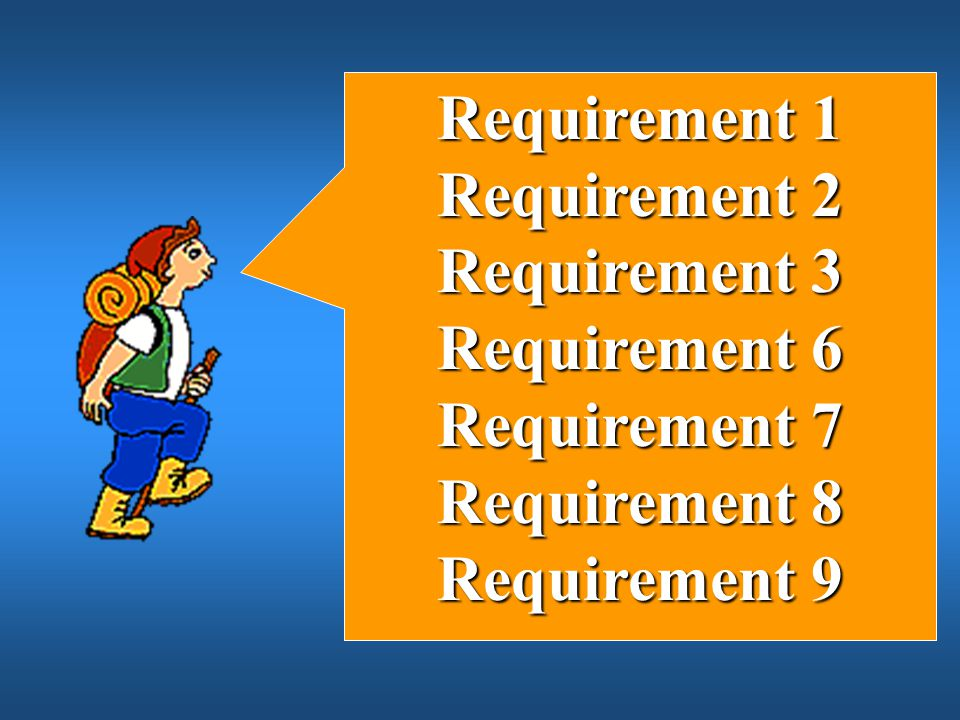 Requirement 1 Requirement 2 Requirement 3 Requirement 6 Requirement 7 Requirement 8 Requirement 9
