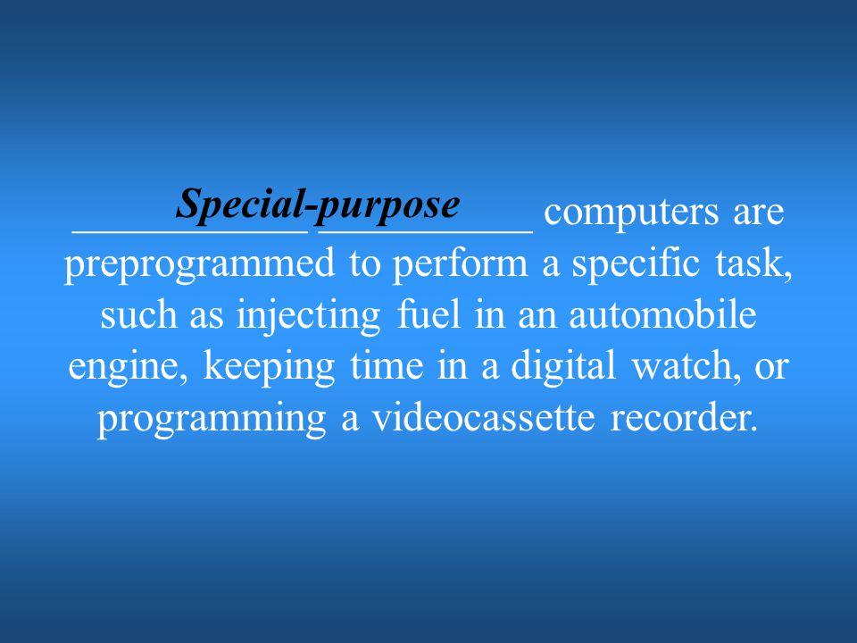 Special-purpose