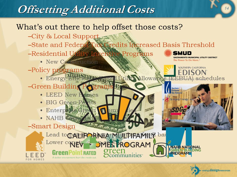 Offsetting Additional Costs