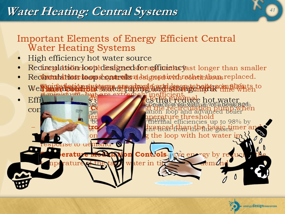 Water Heating: Central Systems