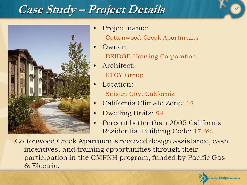 Case Study – Project Details
