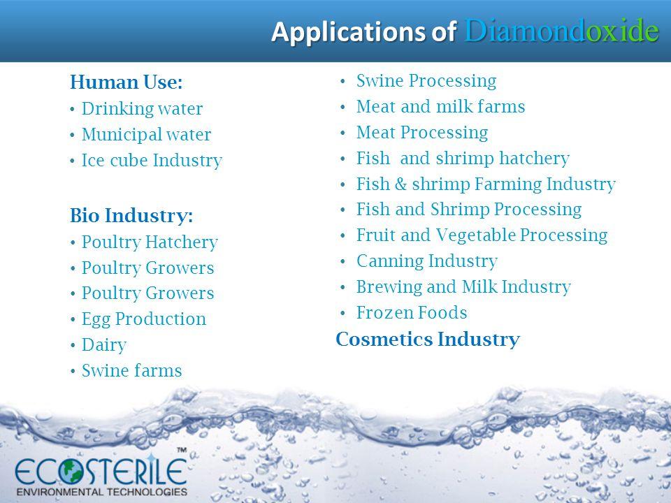 Applications of Diamondoxide