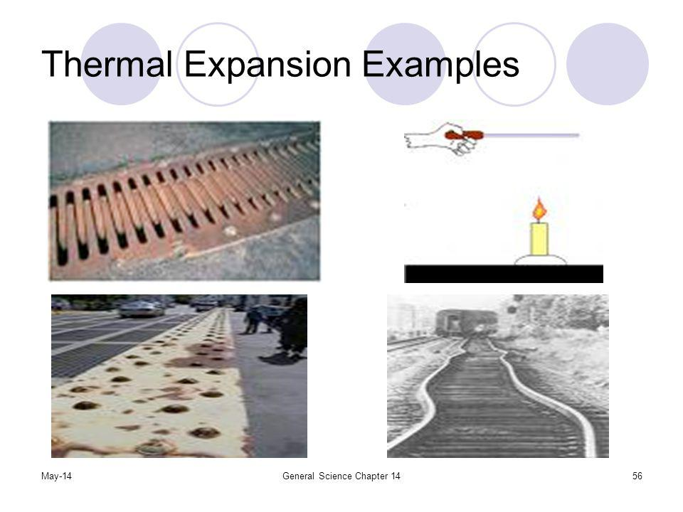 Thermal Expansion Examples