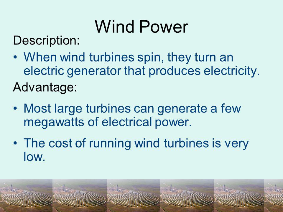 Wind Power Description: