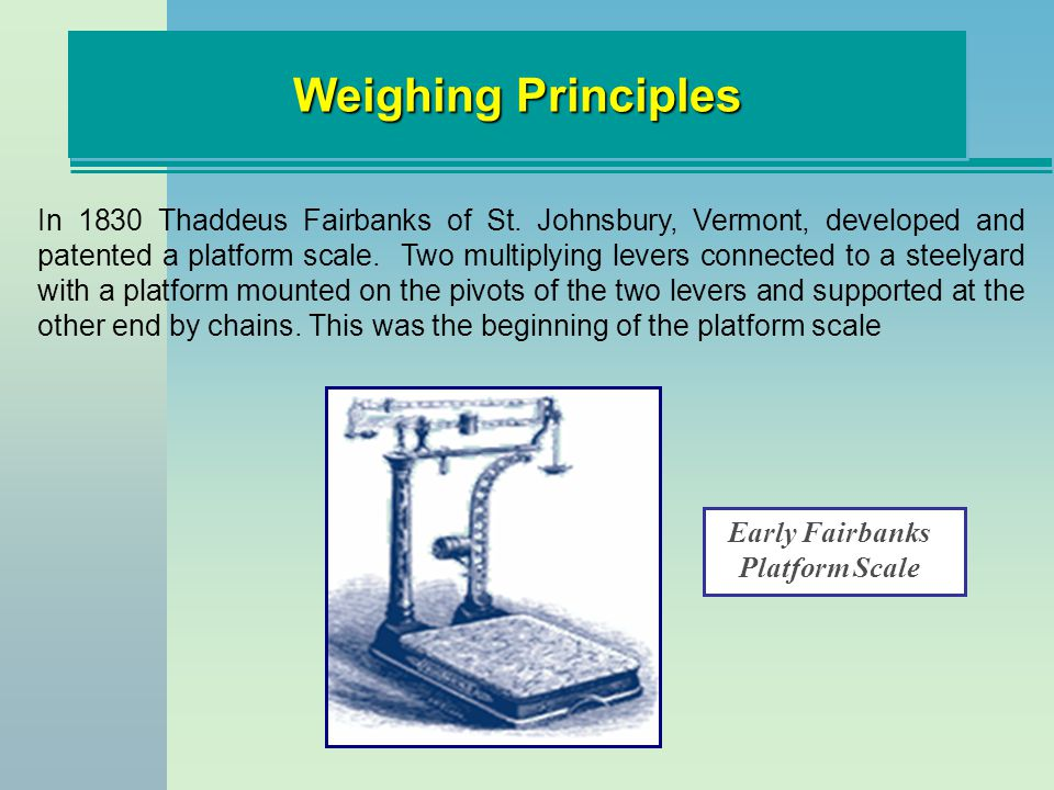 Early Fairbanks Platform Scale