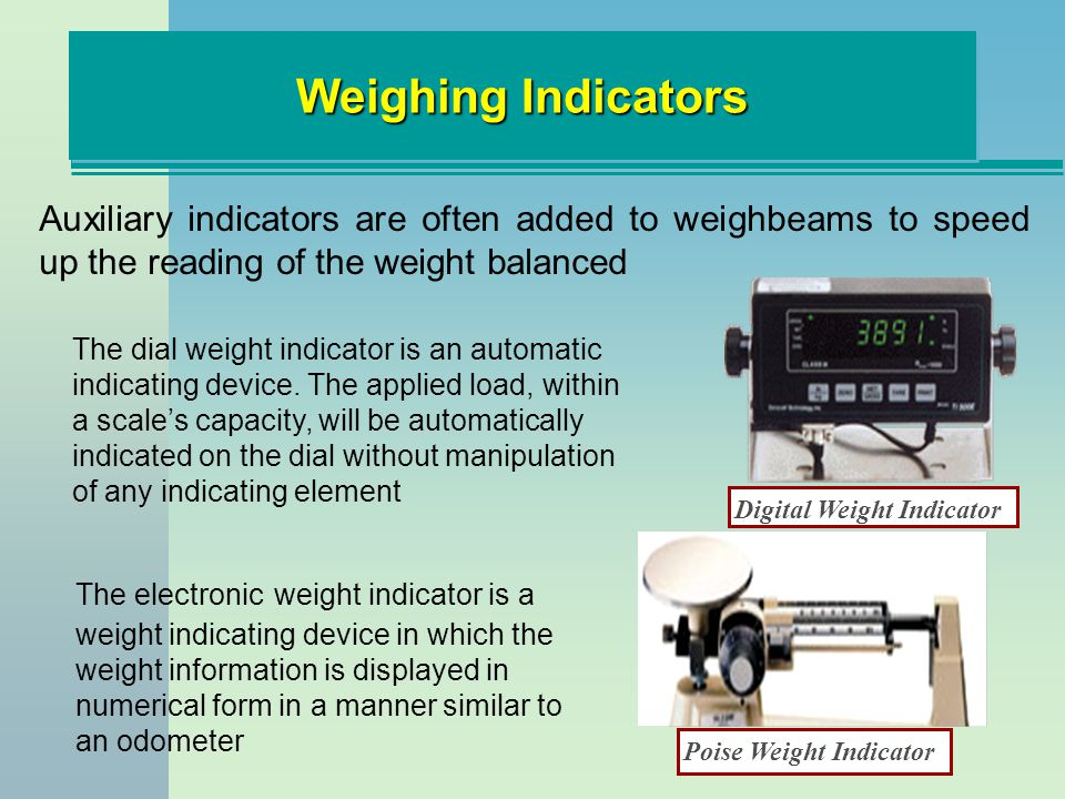 Digital Weight Indicator Poise Weight Indicator