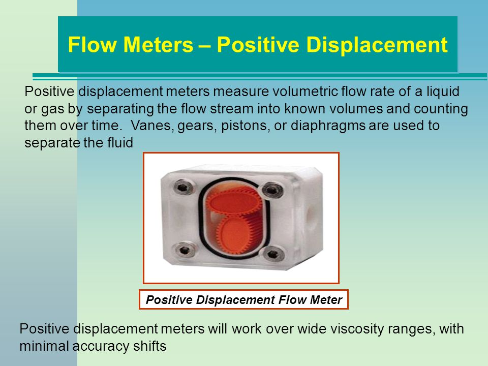 Flow Meters – Positive Displacement