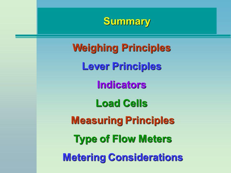 Metering Considerations