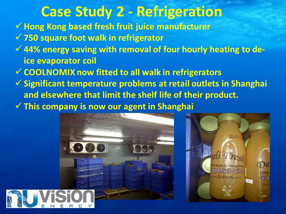 Case Study 2 - Refrigeration