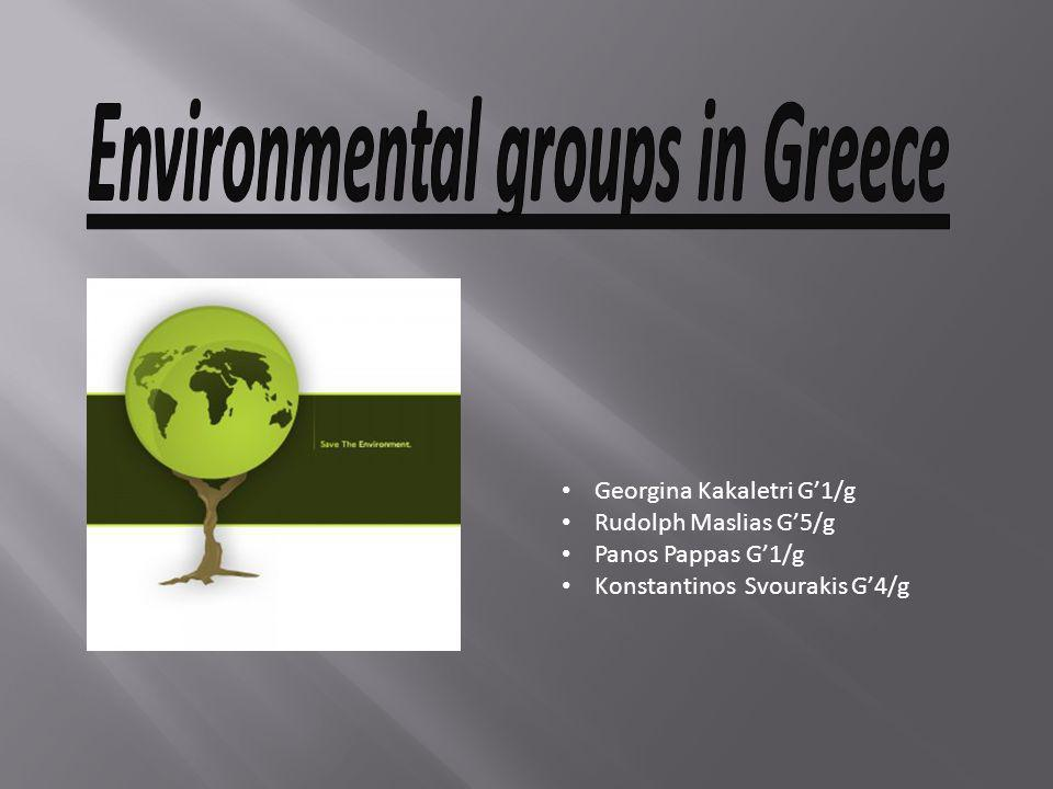 Environmental groups in Greece