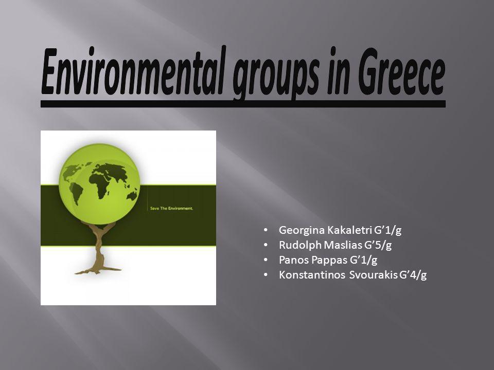 Environmental groups in Greece