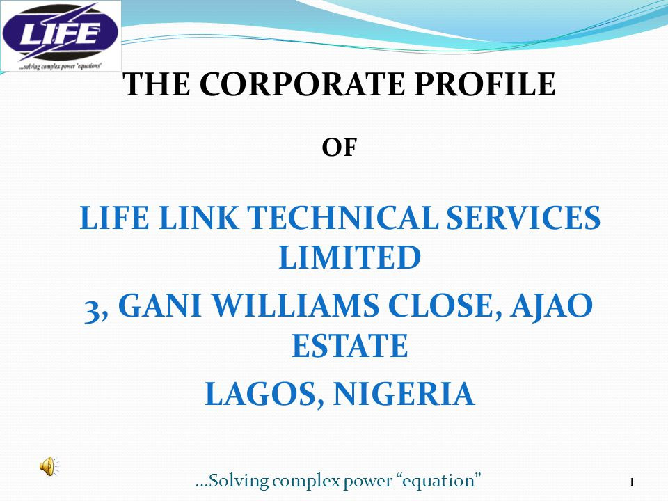 LIFE LINK TECHNICAL SERVICES LIMITED