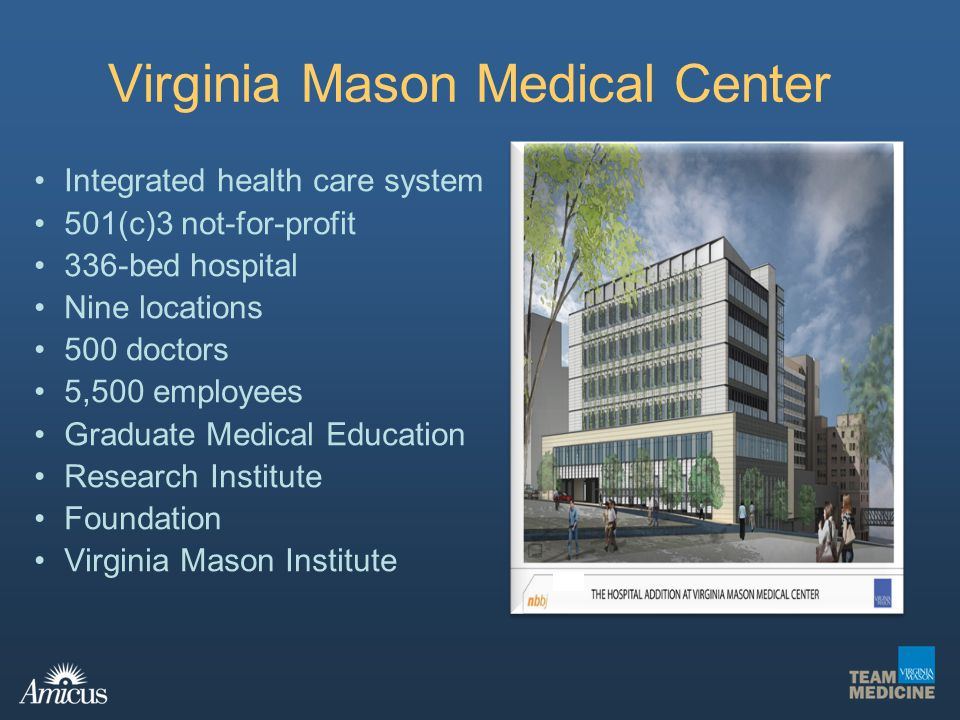 virginia mason medical center and toyota production system Applying the toyota production system to medicine  on being a physician at the virginia mason medical center - duration:  toyota material handling - production from start to finish .