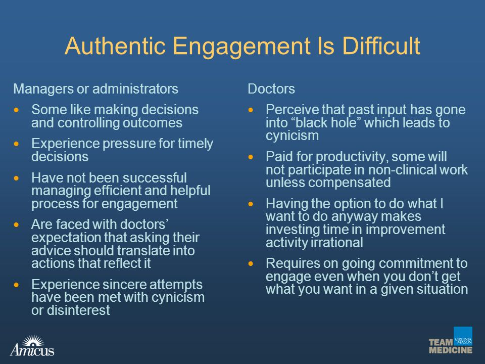 Authentic Engagement Is Difficult