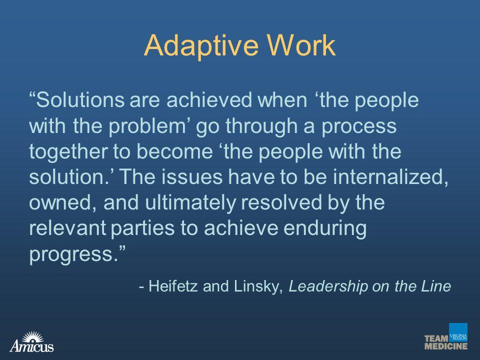 Adaptive Work