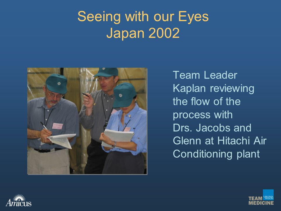 Seeing with our Eyes Japan 2002