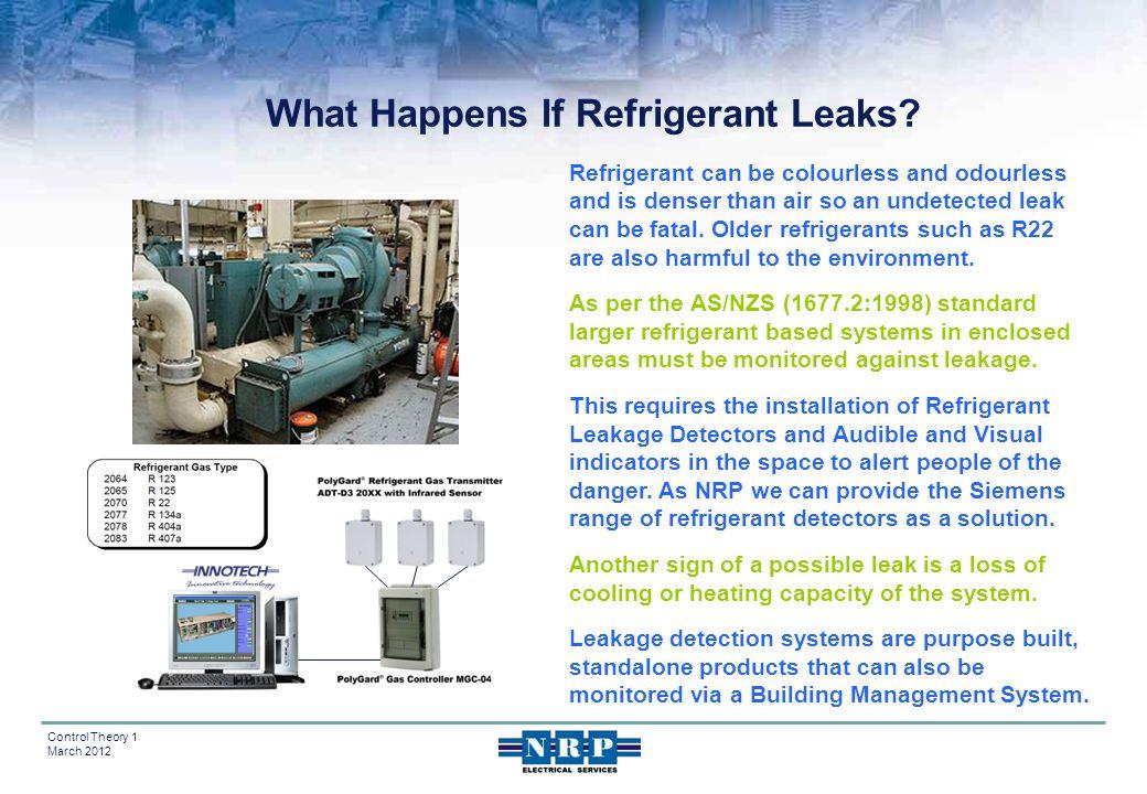 What Happens If Refrigerant Leaks