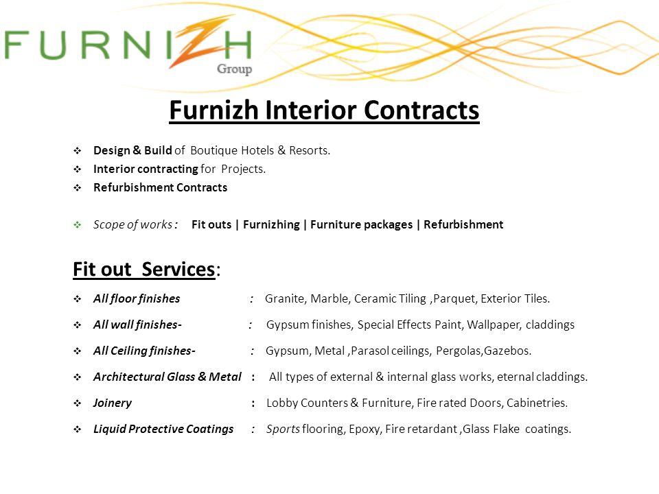 Furnizh Interior Contracts