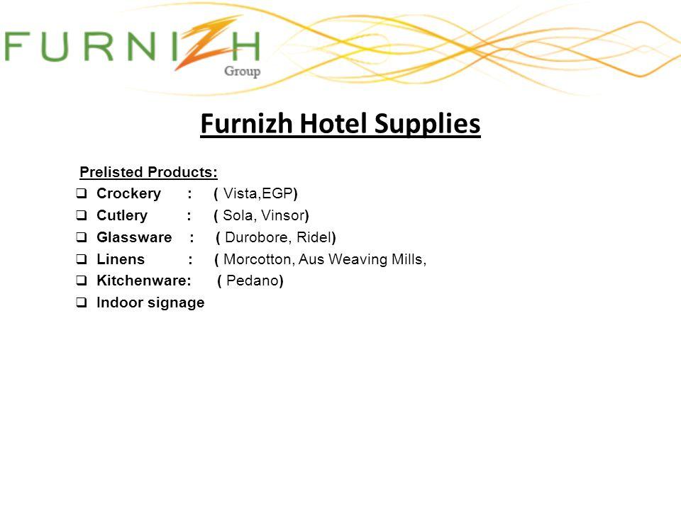 Furnizh Hotel Supplies