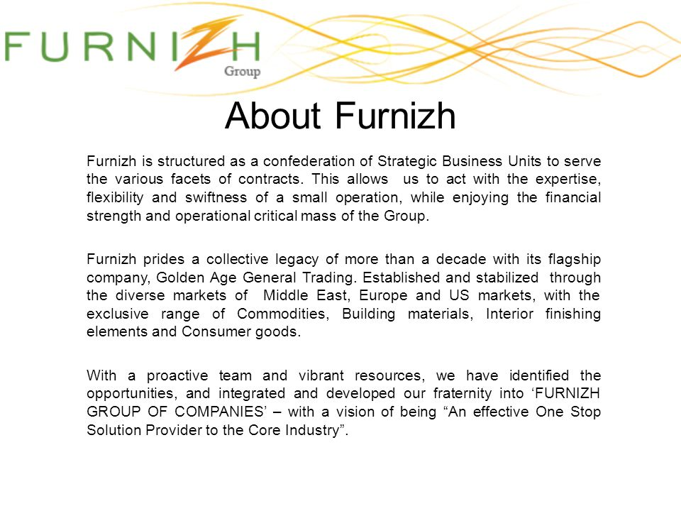 About Furnizh
