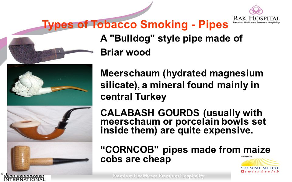 Types of Tobacco Smoking - Pipes