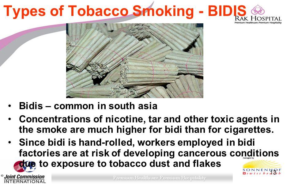 Types of Tobacco Smoking - BIDIS