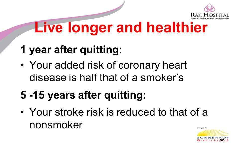 Live longer and healthier
