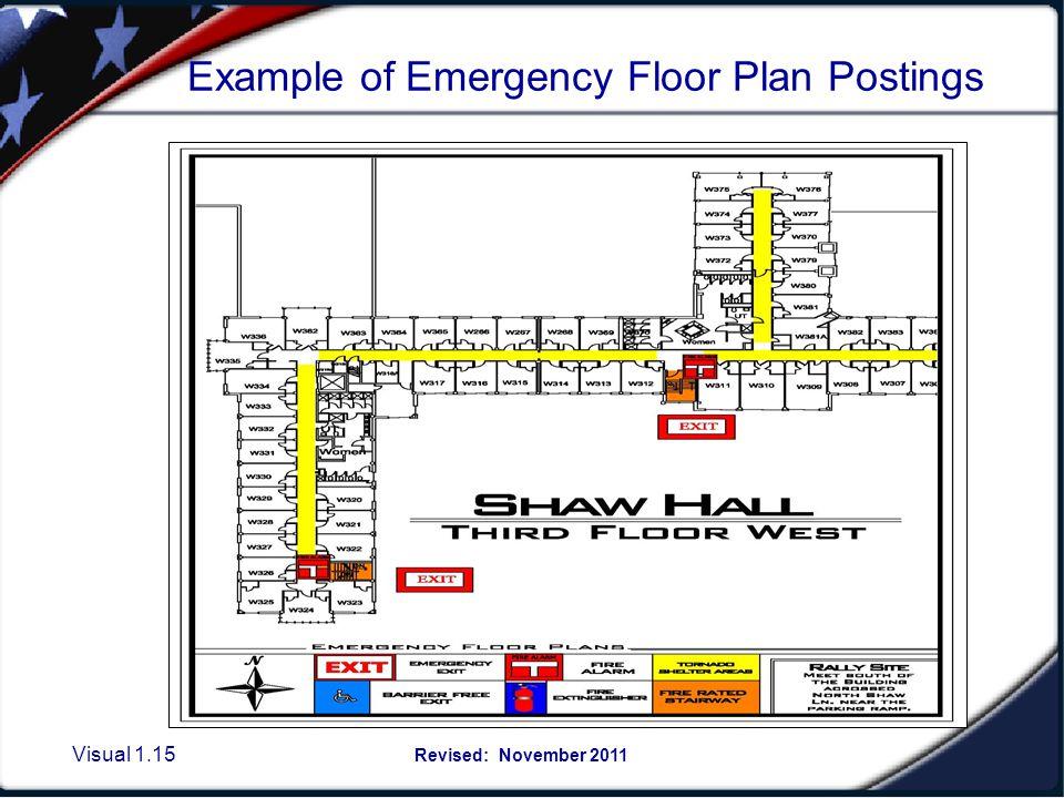 M.S.U.'s Emergency Guidelines Posting