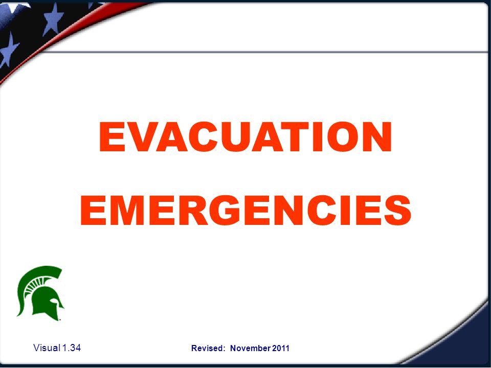 Reasons to Evacuate the building