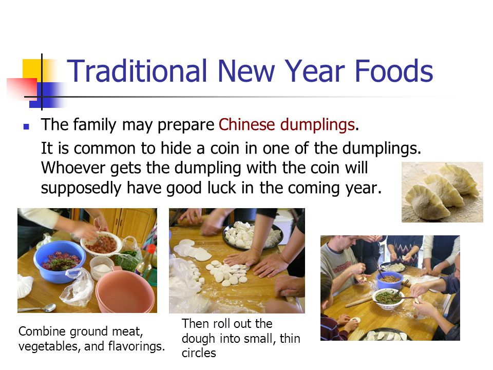 Traditional New Year Foods