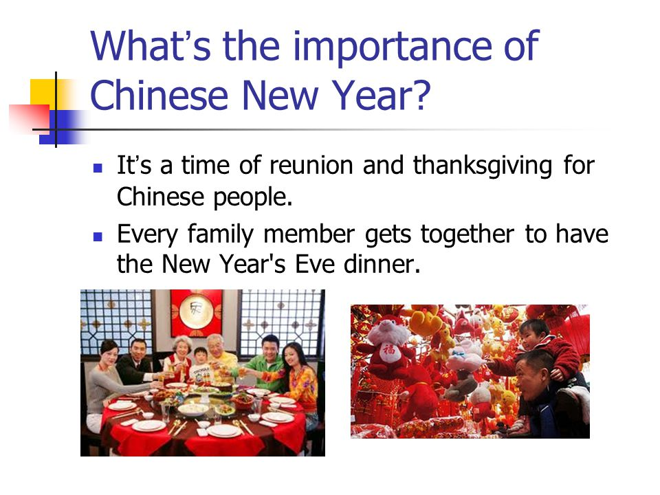 What's the importance of Chinese New Year
