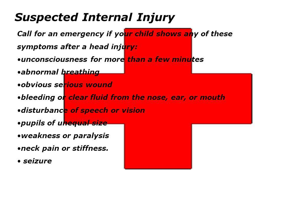Suspected Internal Injury