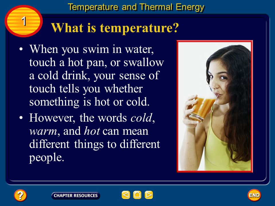 Temperature and Thermal Energy