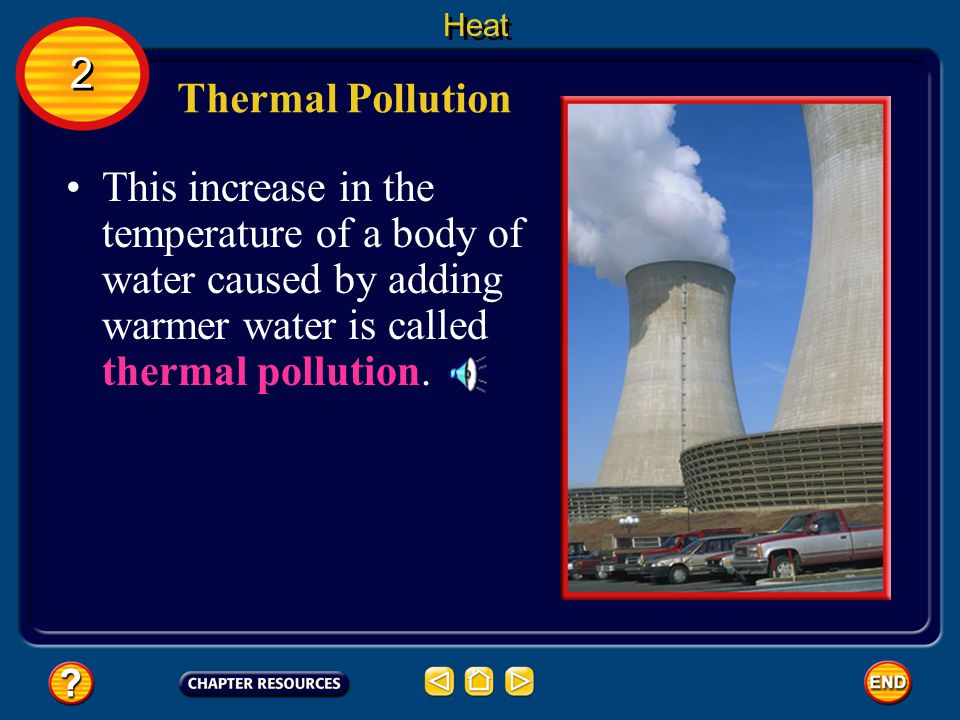 Heat 2. Thermal Pollution.