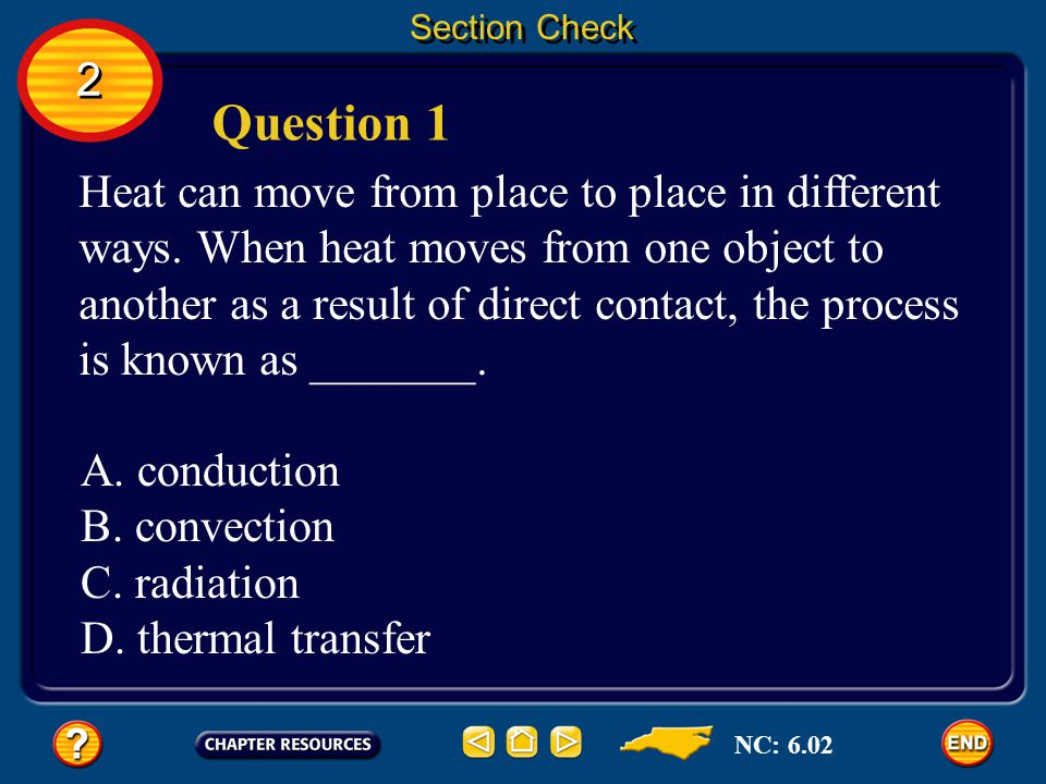 Section Check 2. Question 1.