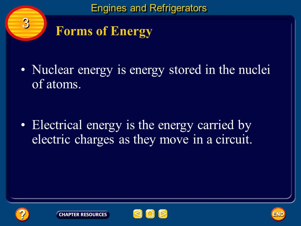 Nuclear energy is energy stored in the nuclei of atoms.