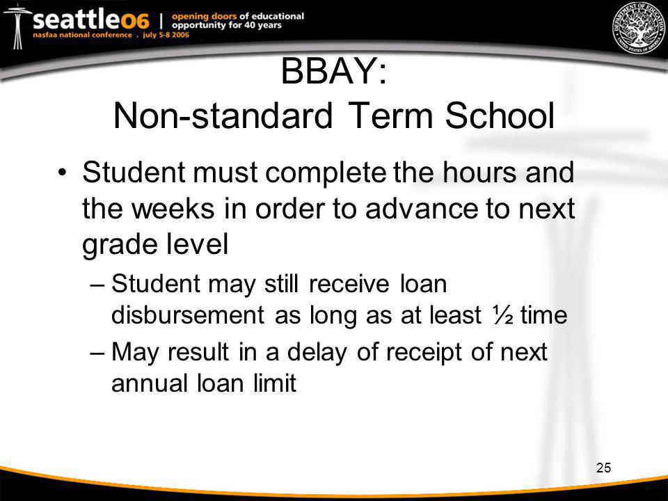 BBAY: Non-standard Term School