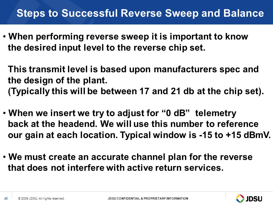 Steps to Successful Reverse Sweep and Balance
