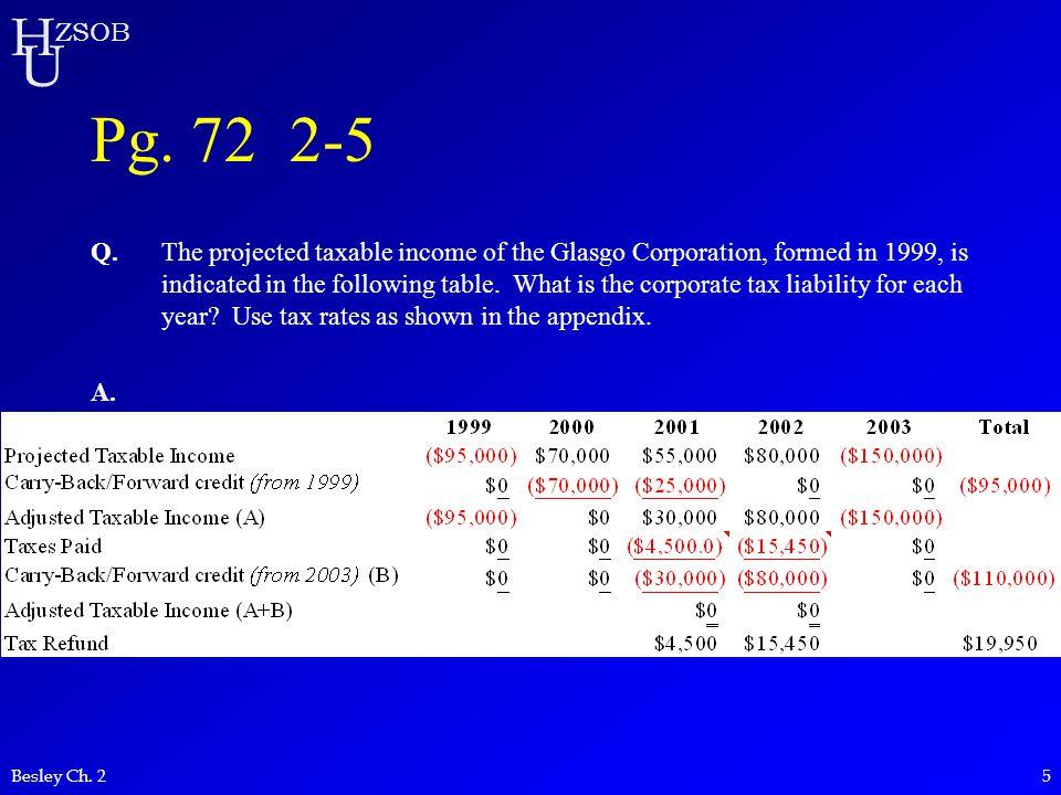 Pg. 72 2-5