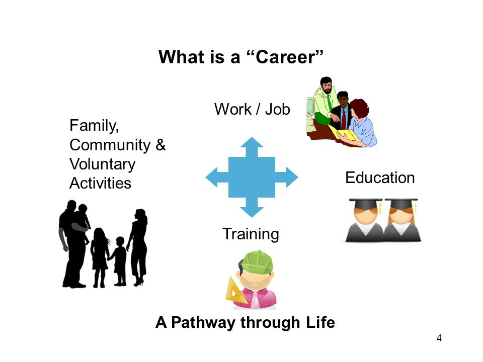 What is a Career Work / Job Family, Community & Voluntary Activities