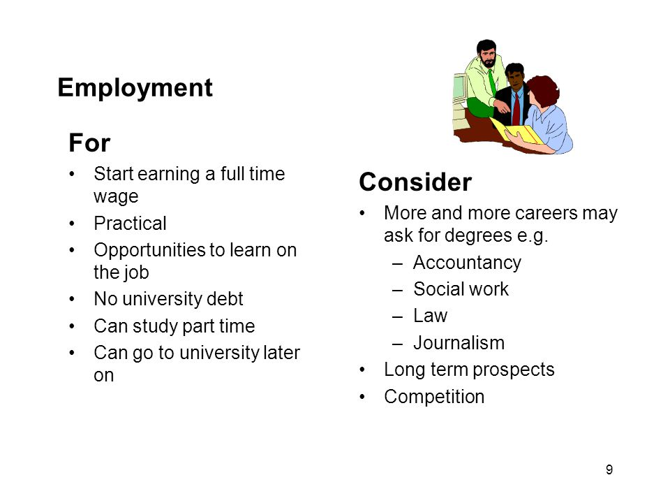 Employment For Consider Start earning a full time wage Practical