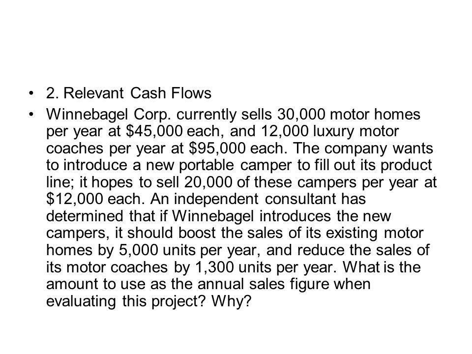 2. Relevant Cash Flows