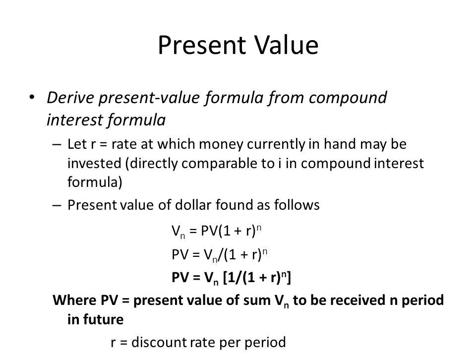 Mathematics of Compound Interest - ppt video online download