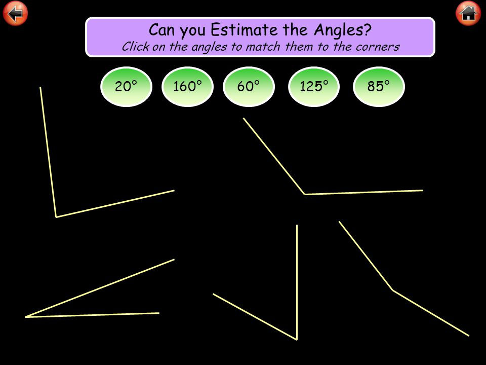 Can you Estimate the Angles
