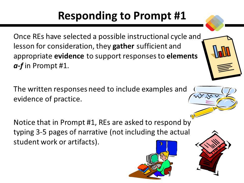 Responding to Prompt #1