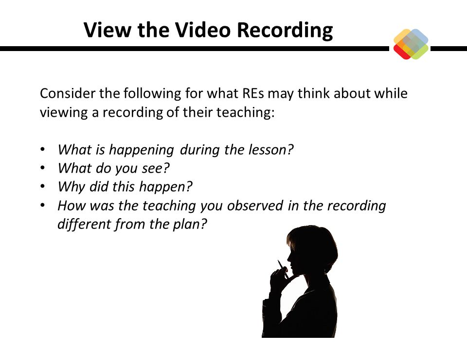 View the Video Recording