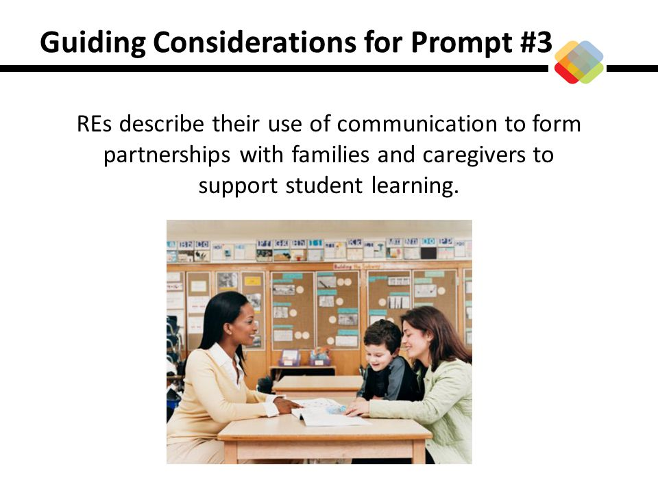 Guiding Considerations for Prompt #3