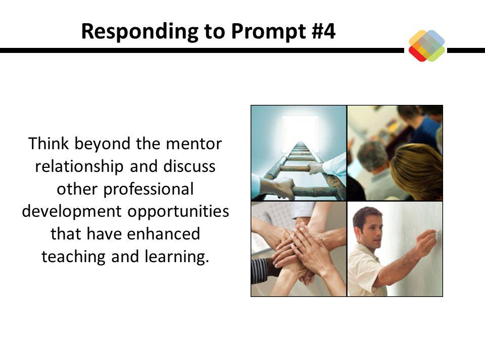 Responding to Prompt #4
