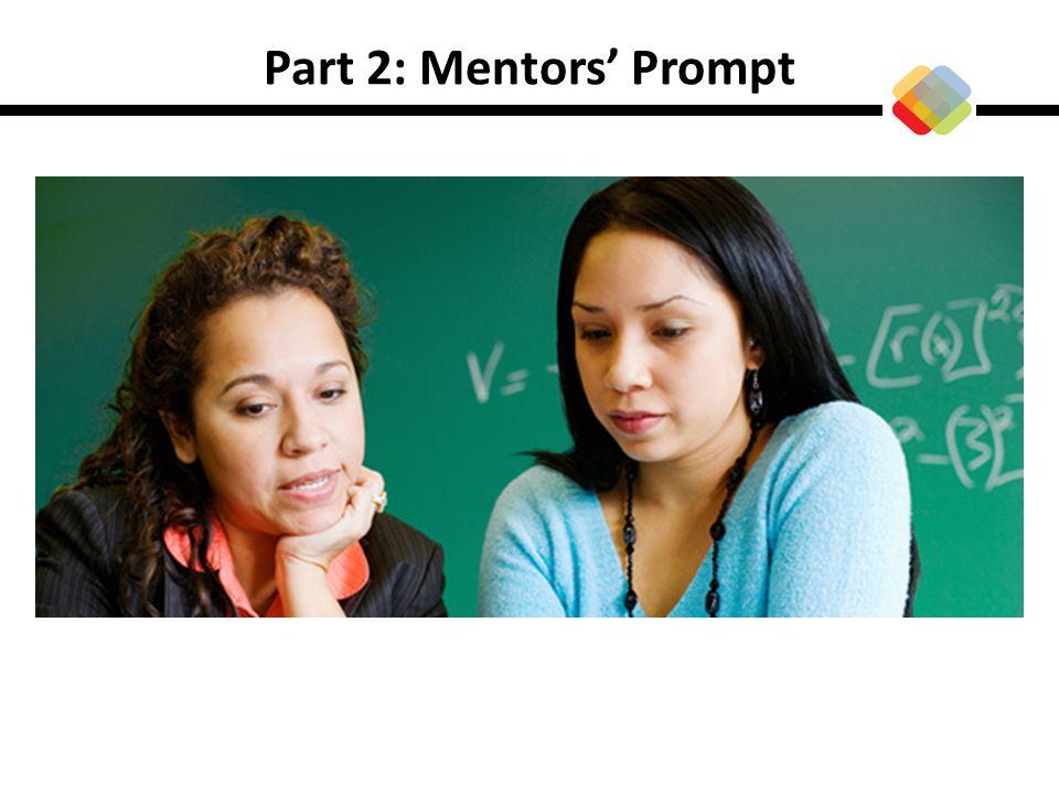 Part 2: Mentors' Prompt