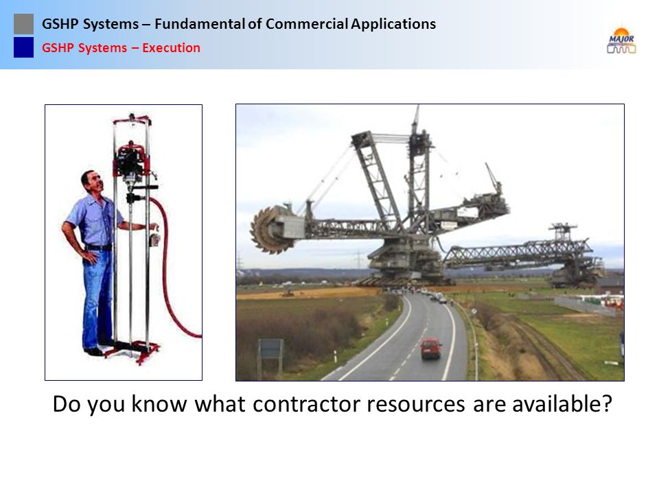 Do you know what contractor resources are available